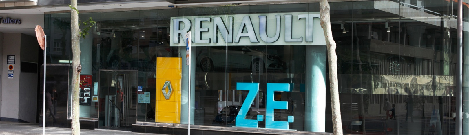 concesionario Renault Retail Group Les Corts
