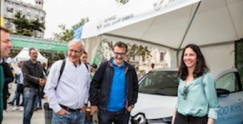 RENAULT ZOE, protagonista de Electric Movements en Valencia